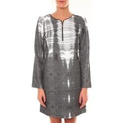 Abbigliamento Donna Abiti corti Custo Barcelona Robe Charly Grise Nero