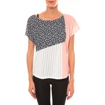 Abbigliamento Donna T-shirt maniche corte Coquelicot Top 15403/001 blanc Bianco