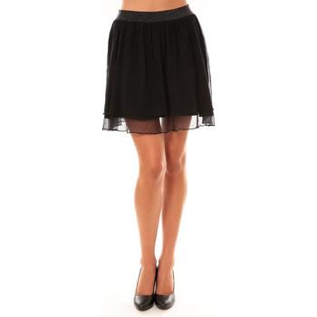 Abbigliamento Donna Gonne Coquelicot Jupe courte 15107/099 noir Nero