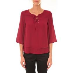 Abbigliamento Donna Top / Blusa Dress Code Blouse 1652 bordeaux Rosso