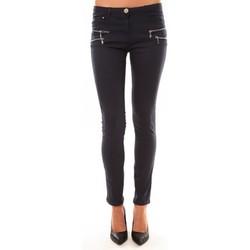 Abbigliamento Donna Pantaloni 5 tasche Comme Des Filles Comme Des Garçons Pantalon C606 marine Blu