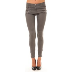 Abbigliamento Donna Pantaloni 5 tasche Comme Des Filles Comme Des Garçons Pantalon C606 gris Grigio