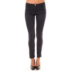Abbigliamento Donna Pantaloni 5 tasche Dress Code Pantalon C601 marine Blu