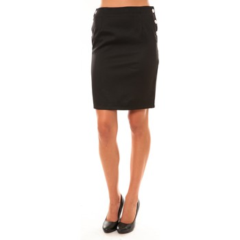 Abbigliamento Donna Gonne Dress Code Jupe D1452 noir Nero