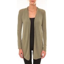 Abbigliamento Donna Gilet / Cardigan Vision De Reve Vision de Rêve Cardigan 8677 vert Verde