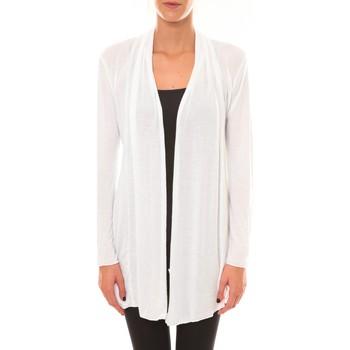 Abbigliamento Donna Gilet / Cardigan Vision De Reve Vision de Rêve Cardigan 8677 blanc Bianco