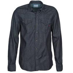 Abbigliamento Uomo Camicie maniche lunghe Replay M4860N Grigio