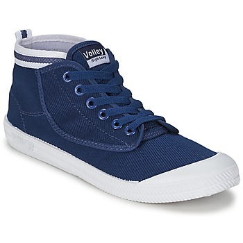 Scarpe Uomo Sneakers alte Volley HIGH LEAP Navy / Bianco