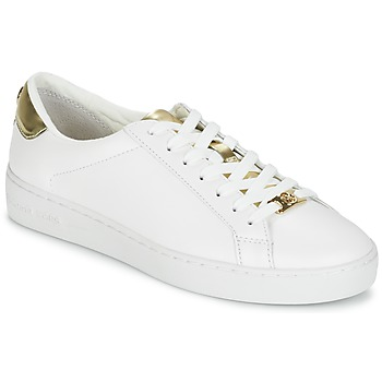 Scarpe Donna Sneakers basse MICHAEL Michael Kors IRVING Bianco / Dore