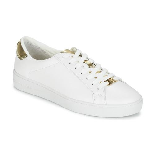 Scarpe Donna Sneakers basse MICHAEL Michael Kors IRVING Bianco / Dore