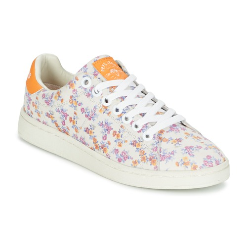 Pepe jeans CLUB FLOWERS Bianco  Scarpe Sneakers basse Donna 45