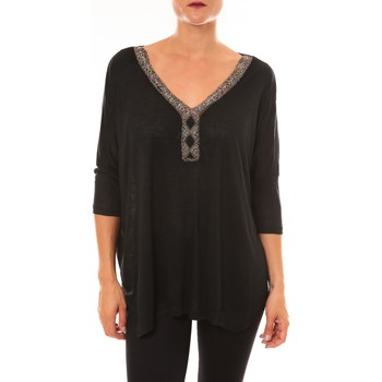 Abbigliamento Donna Top / Blusa La Vitrine De La Mode By La Vitrine Top R5550 noir Nero