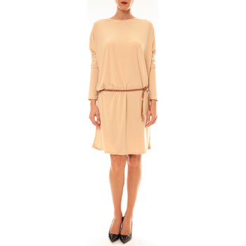 Abbigliamento Donna Abiti corti Dress Code Robe 53021 beige Beige