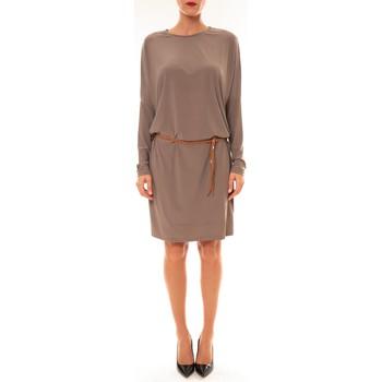 Abbigliamento Donna Abiti corti Dress Code Robe 53021 taupe Marrone