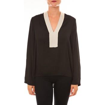 Abbigliamento Donna Top / Blusa La Vitrine De La Mode By La Vitrine Blouse Z089 noir Nero