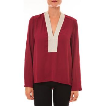 Abbigliamento Donna Top / Blusa La Vitrine De La Mode By La Vitrine Blouse Z089 bordeaux Rosso