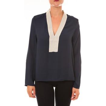Abbigliamento Donna Top / Blusa La Vitrine De La Mode By La Vitrine Blouse Z089 marine Blu