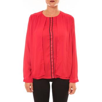 Abbigliamento Donna Top / Blusa La Vitrine De La Mode By La Vitrine Blouse H12 rouge Rosso