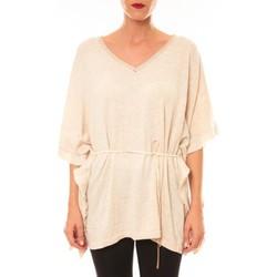 Abbigliamento Donna T-shirt maniche corte La Vitrine De La Mode By La Vitrine Pull MC3120 beige Beige