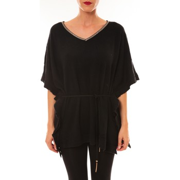 Abbigliamento Donna T-shirt maniche corte La Vitrine De La Mode By La Vitrine Pull MC3120 noir Nero