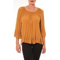 Abbigliamento Donna Top / Blusa By La Vitrine Blouse Giulia moutarde Giallo