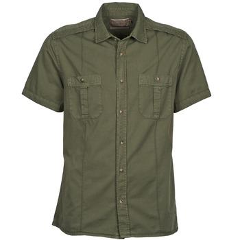 Abbigliamento Uomo Camicie maniche corte Chevignon C MILITARY TWIL Verde