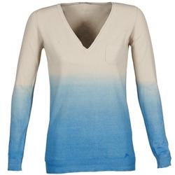 Abbigliamento Donna Maglioni Gas DESHI Beige / Blu