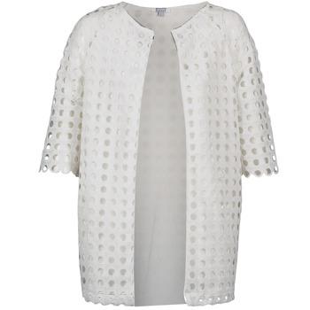Abbigliamento Donna Cappotti Brigitte Bardot BB44197 Bianco