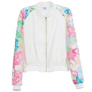 Abbigliamento Donna Giacche Brigitte Bardot BB44045 Bianco / Multicolore