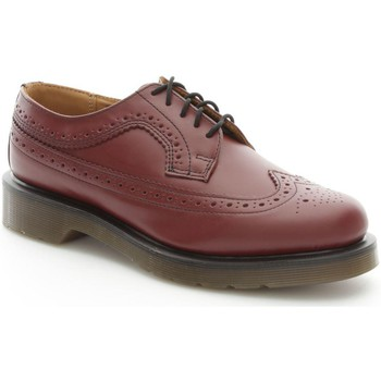 Scarpe Donna Derby Dr Martens 3989_07 Scarpe con lacci Adulto unisex Brouge Cherry Red Brouge Cherry Red
