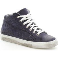 Scarpe Donna Sneakers alte Again 92/1 Sneakers Donna Blue Blue