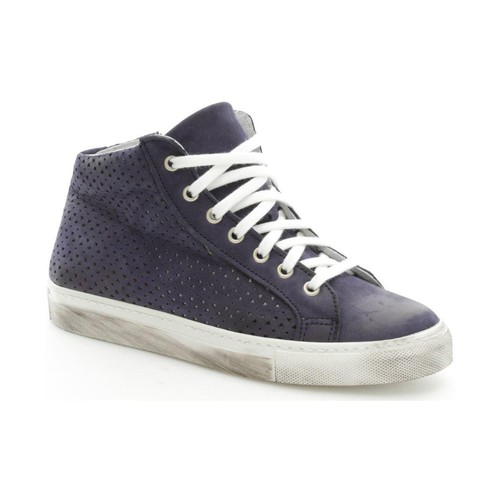 Again 92/1 Sneakers Donna Blue Blue - Scarpe Sneakers alte Donna 44,85
