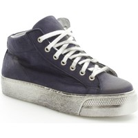 Scarpe Donna Sneakers alte Again 92/14 Sneakers Donna Blue Blue
