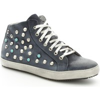 Scarpe Donna Sneakers alte Again 92B Sneakers Donna Blue Blue