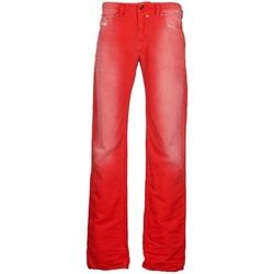 Abbigliamento Uomo Jeans dritti Diesel SAFADO Rosso