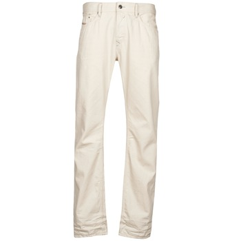 Abbigliamento Uomo Jeans dritti Diesel WAYKEE Bianco