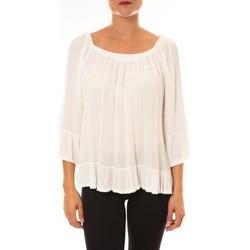 Abbigliamento Donna Top / Blusa By La Vitrine Blouse Giulia blanc Bianco