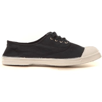 Scarpe Donna Sneakers basse Bensimon Tennis à lacets Carbone - Ardoise Grigio
