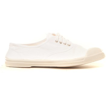 Scarpe Donna Sneakers Bensimon Tennis à lacets blanc Bianco