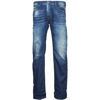 Abbigliamento Uomo Jeans dritti Diesel WAYKEE Blu