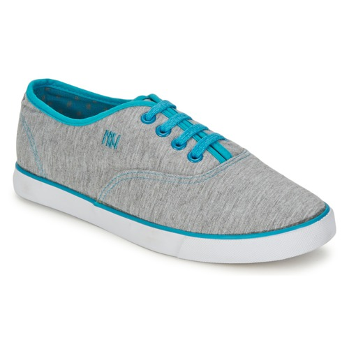 Dorotennis C1 TENNIS RICHELIEU LACETS SEMELL JERSEY Grigio / Turquoise  Scarpe Sneakers basse Donna 18