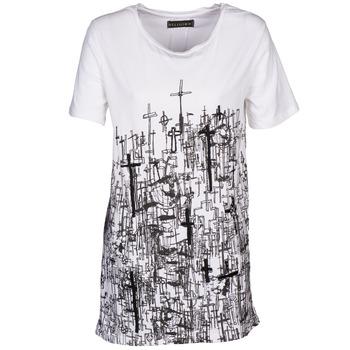 Abbigliamento Donna T-shirt maniche corte Religion B123CND13 Bianco
