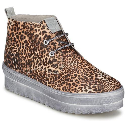 Ylati BAIA F Leopard  Scarpe Sneakers alte Donna 108