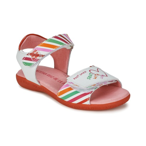 Sandali Agatha Ruiz de la Prada CAZOLETA Bianco / Multicolore 350x350