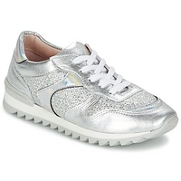 Scarpe Donna Sneakers basse Unisa DALTON Argento / Bianco