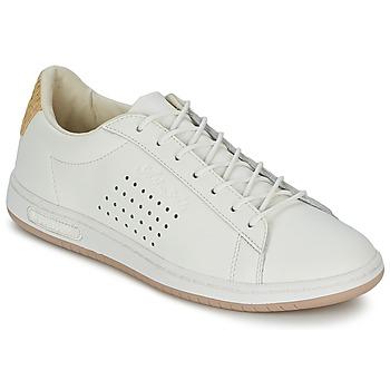 Scarpe Sneakers basse Le Coq Sportif ARTHUR ASHE RAFFIA Crema