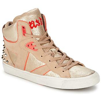 Scarpe Donna Sneakers alte Ash SPIRIT Beige / Rosa