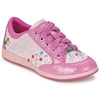 Scarpe Bambina Sneakers basse Lelli Kelly GLITTER-ROSE-CALIFORNIA Rosa
