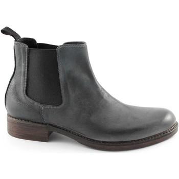 Stivaletti J.p. David  8055-1 antracite scarpe uomo scarponcini stivaletti beatles