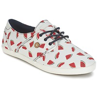 Scarpe Donna Sneakers basse Faguo CYPRESS Bianco / Rosso